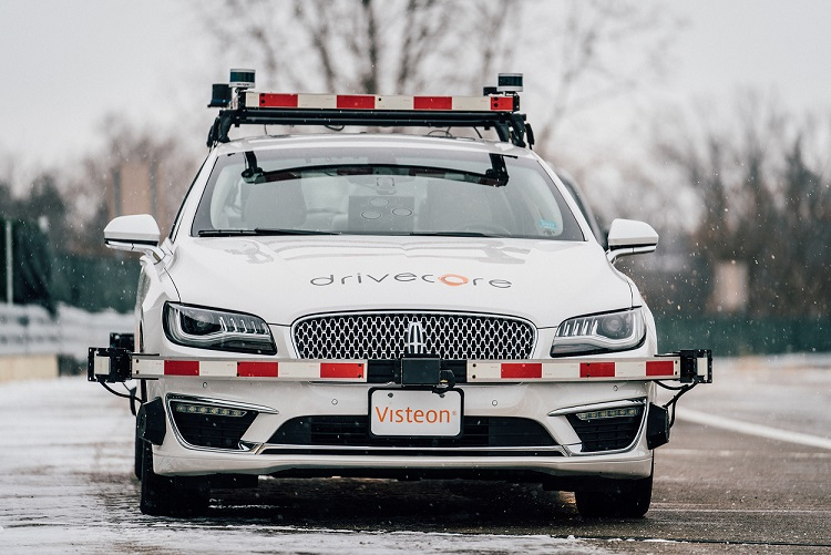 Visteon DriveCore Autonomous Driving Platform makes China debut at 2018 Beijing International Automotive Exhibition